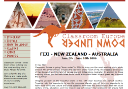 Study Abroad – Down Under